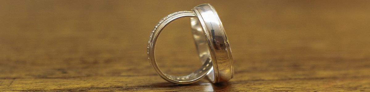 anillos de boda con diamante